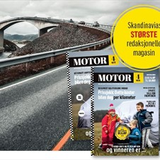 Magasinet Motor tilbake i HS Media